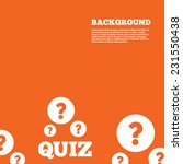 modern design background. quiz... | Shutterstock .eps vector #231550438