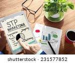 digital online stp marketing... | Shutterstock . vector #231577852