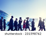 group of business people... | Shutterstock . vector #231598762