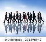 business people commuter... | Shutterstock . vector #231598942