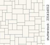 seamless vector pattern.... | Shutterstock .eps vector #231616012