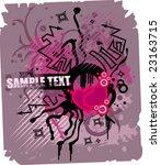 valentine's background | Shutterstock .eps vector #23163715