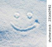 smiley snow | Shutterstock . vector #231660982