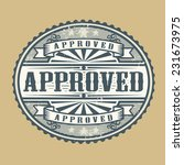 vintage rubber stamp with the... | Shutterstock .eps vector #231673975