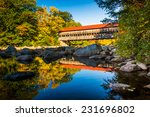 Albany Covered Bridge  Along...