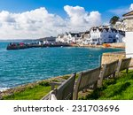 the seafront at st mawes... | Shutterstock . vector #231703696