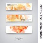 business design templates. set... | Shutterstock .eps vector #231713332