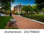 walkway and buildings at john... | Shutterstock . vector #231758602