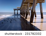 The Fishing Pier And Atlantic...