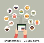 food background   food blogging ... | Shutterstock .eps vector #231815896