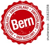 bern stamp | Shutterstock .eps vector #231822058