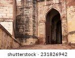 Entry Gate To Indian Mehrangar...