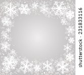 snow background | Shutterstock .eps vector #231833116