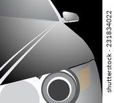 my own vector car design. eps... | Shutterstock .eps vector #231834022