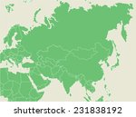 green earth map with countries... | Shutterstock .eps vector #231838192