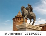 the monument to dmitry donskoy ... | Shutterstock . vector #231893332