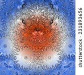 rectangular multicolored... | Shutterstock .eps vector #231893656
