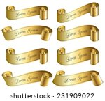 set of vector banners for your... | Shutterstock .eps vector #231909022