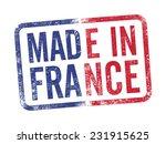 made in france inkpad | Shutterstock .eps vector #231915625
