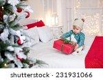 baby child new year christmas | Shutterstock . vector #231931066