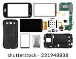 disassembled smartphone... | Shutterstock . vector #231948838