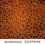 islamic star grunge background | Shutterstock . vector #231979696