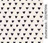 seamless pattern. casual polka... | Shutterstock .eps vector #231987046