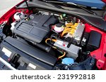 view of the two engines of a... | Shutterstock . vector #231992818