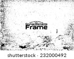 grunge frame   abstract texture.... | Shutterstock .eps vector #232000492