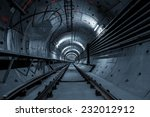 underground tunnel for the... | Shutterstock . vector #232012912