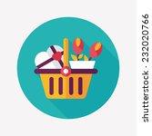 valentine's day present bucket... | Shutterstock .eps vector #232020766