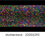 colorful mosaic with dots   Shutterstock .eps vector #23202292