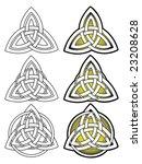 stylized decorative celtic... | Shutterstock .eps vector #23208628