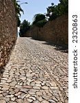 an ancient road build with... | Shutterstock . vector #2320863