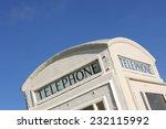roof of a white white hull... | Shutterstock . vector #232115992