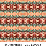 retro pattern with swirls. eps... | Shutterstock .eps vector #232119085