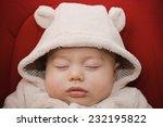 darling baby boy sleeping  | Shutterstock . vector #232195822