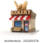 Bakery 3d Illustration