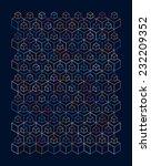 poster design of multicolored... | Shutterstock .eps vector #232209352