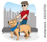 illustration is led by disabled ... | Shutterstock .eps vector #232210702