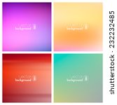 abstract colorful smooth...   Shutterstock .eps vector #232232485