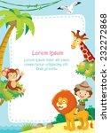 jungle background | Shutterstock .eps vector #232272868