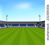 sports stadium with seating for ... | Shutterstock .eps vector #232300306