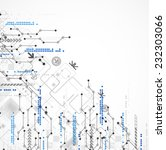 abstract technology business... | Shutterstock .eps vector #232303066