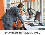 young people in the office | Shutterstock . vector #232304962