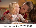 portrait of happy mother and... | Shutterstock . vector #232321342
