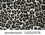 Grey And Black Leopard Pattern. ...
