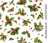 Seamless Christmas Pattern Wit...