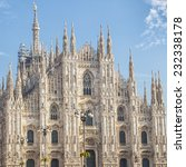 milan cathedral  | Shutterstock . vector #232338178