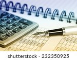 business accounting  | Shutterstock . vector #232350925